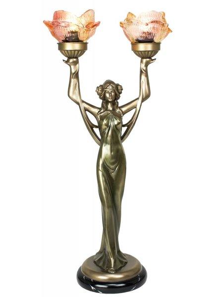Lady Lamp with Two Bulbs- Medium