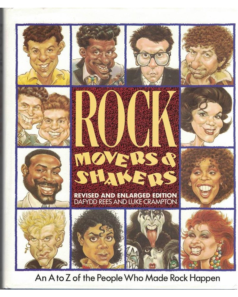 Rock Movers and Shakers Vintage Book