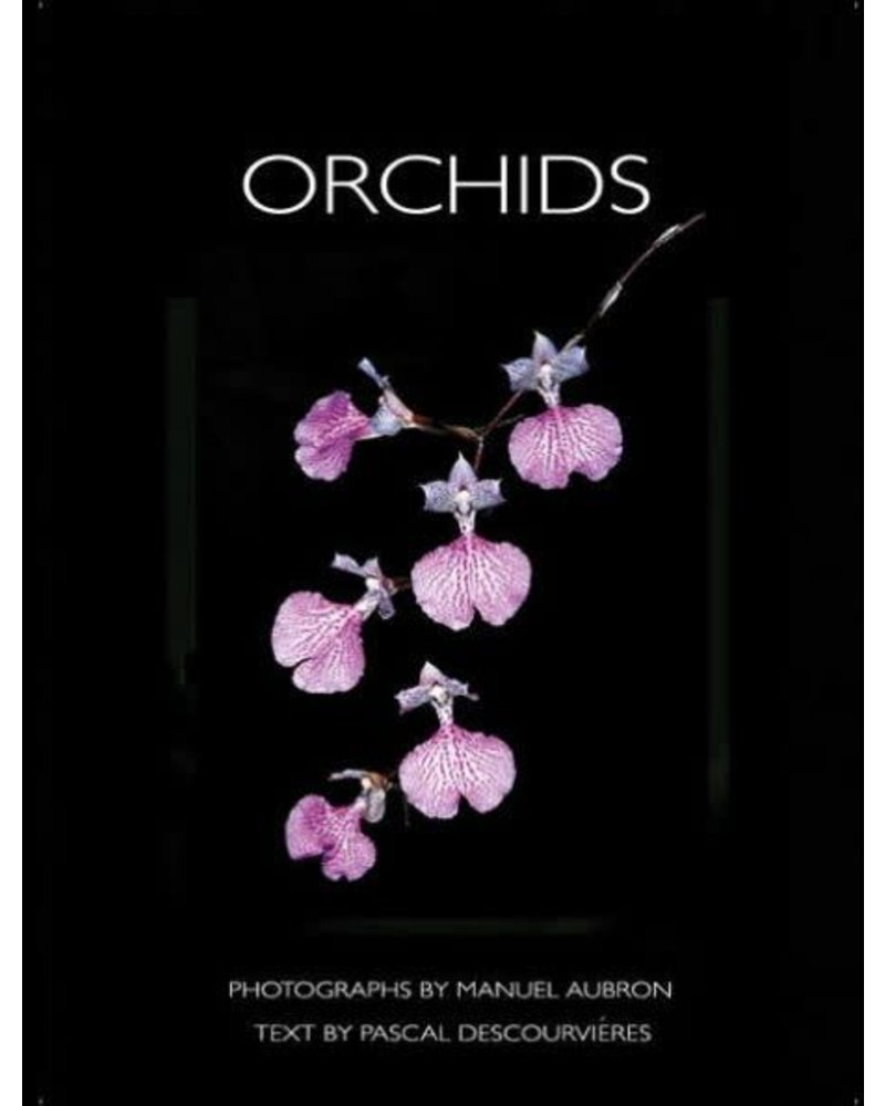 Orchids Vintage Book