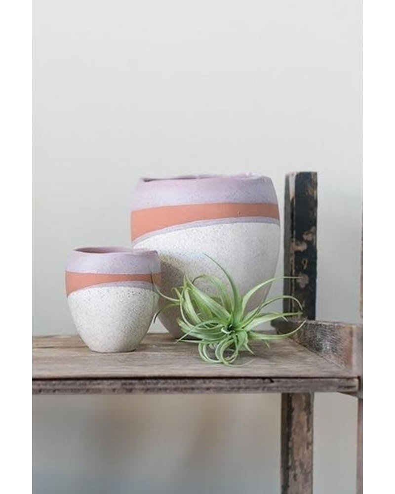 "Accent Decor Parker Pot- 5.5"" x 6.25"""