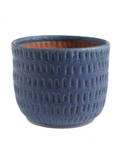 Accent Decor Demi Pot Blue