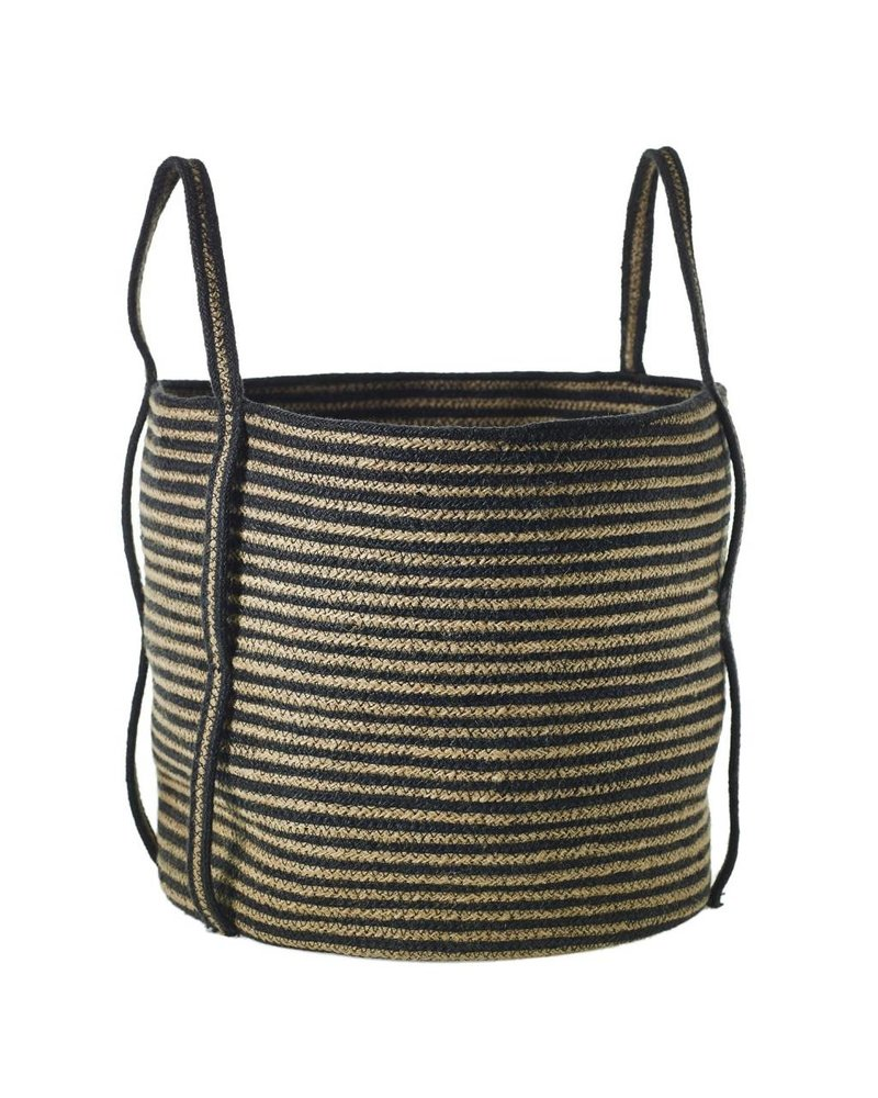 Accent Decor Striped Banger Basket