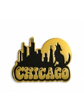 Eskell Eskell Chicago Skyline Pins