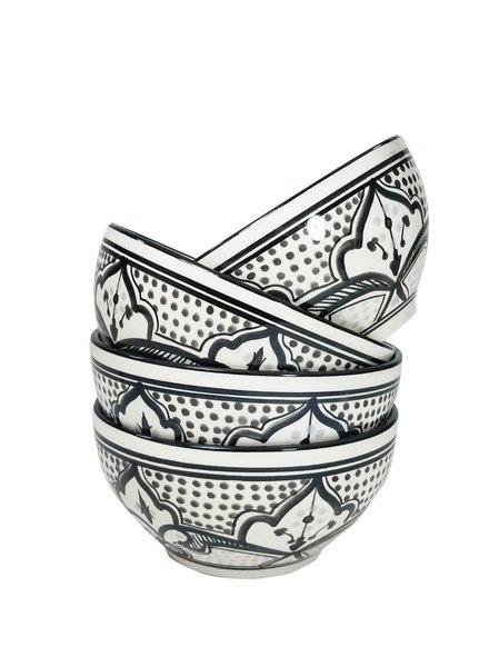 Le Souk Ceramique & Le Souk Olivique Stonewear Soup/Cereal Bowl- Haqima Design