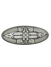 Le Souk Ceramique & Le Souk Olivique Extra Large Stoneware Oval Platter- Haqima Design