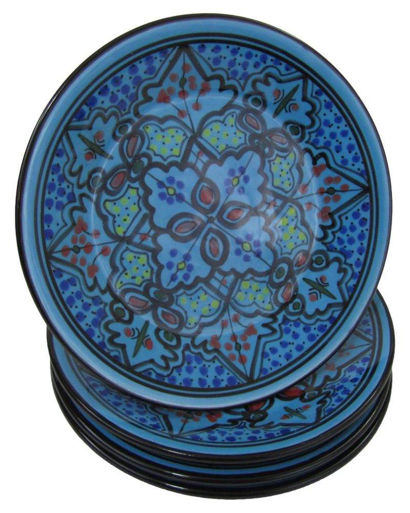 Le Souk Ceramique & Le Souk Olivique Stoneware Side Plate- Sabrine Design