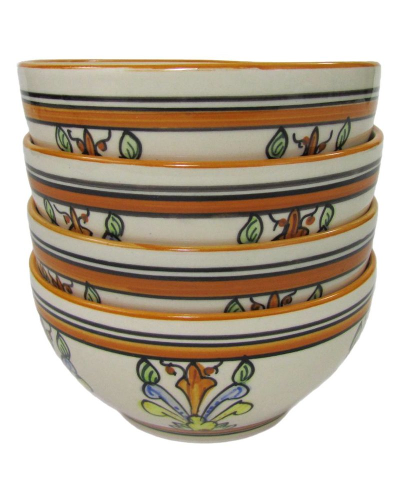 Le Souk Ceramique & Le Souk Olivique Stoneware Soup/Cereal Bowl- Salvena Design