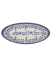 Le Souk Ceramique & Le Souk Olivique Extra Large Stoneware Oval Platter- Azoura Design