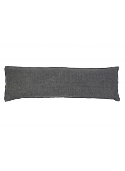 Pom Pom at Home Body Pillow- Dark Charcoal