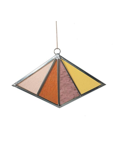 Debbie Bean Diamond Suncatcher
