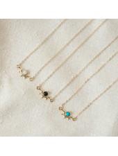 Merewif Beam Necklace- Black Onyx