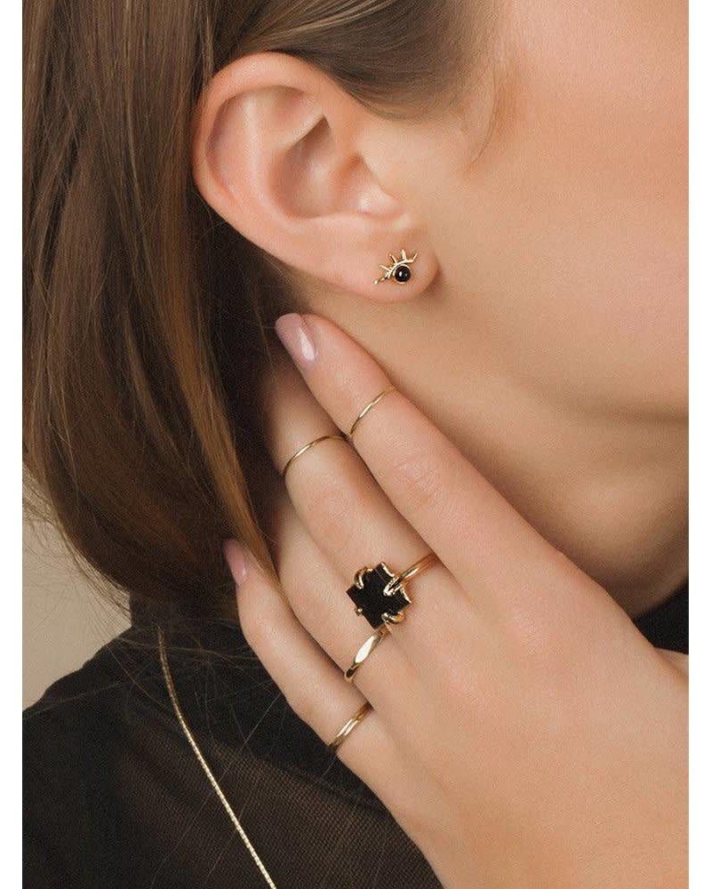 Merewif Wink Earrings- Turquoise