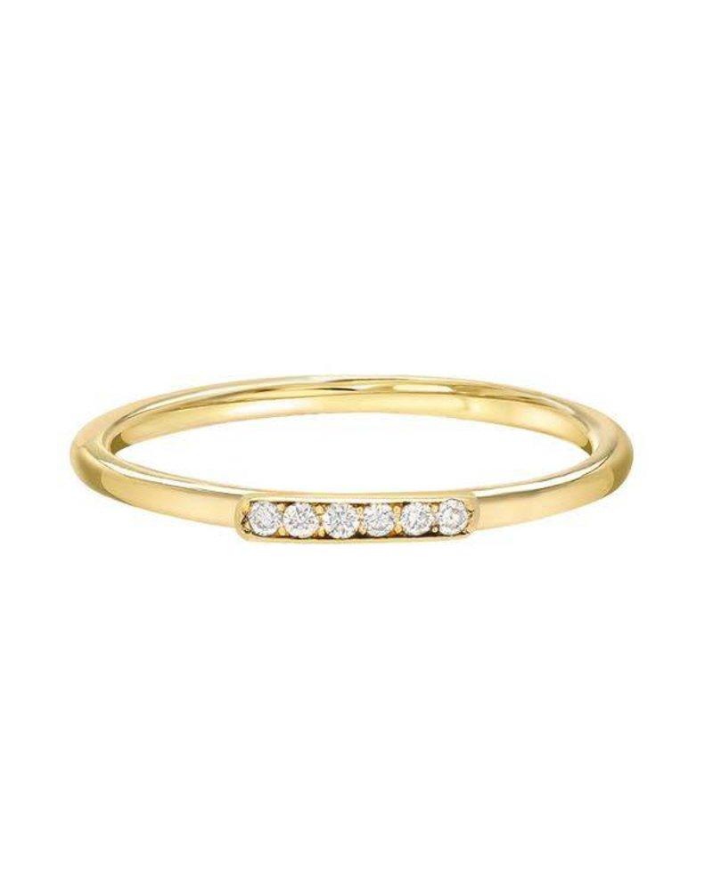 Stacy Nolan Stacy Nolan- Diamond Bar Ring- size 6