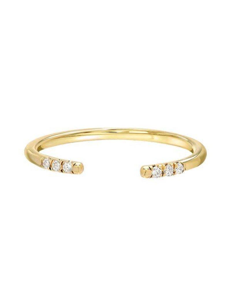 Stacy Nolan Stacy Nolan- Open Diamond Ring- size 7
