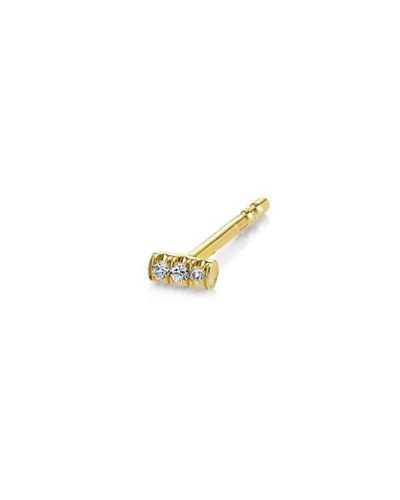 Stacy Nolan Stacy Nolan- Mini Pave Diamond Bar Stud