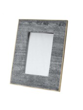 BIDKhome Black Marble & Brass Photo Frame