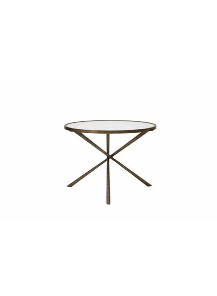 BIDKhome Iron & Marble Tripod Table