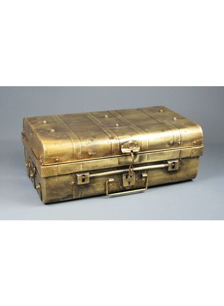 Painted Iron Suitcase