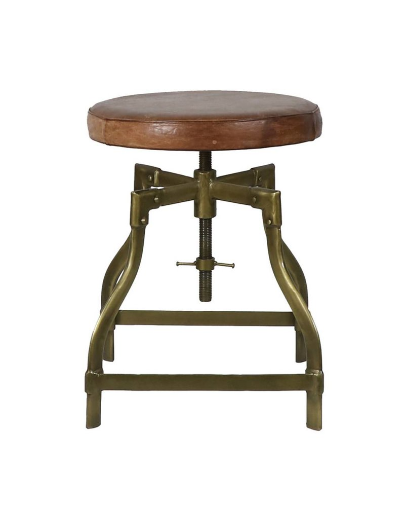 Piano Stool Brass
