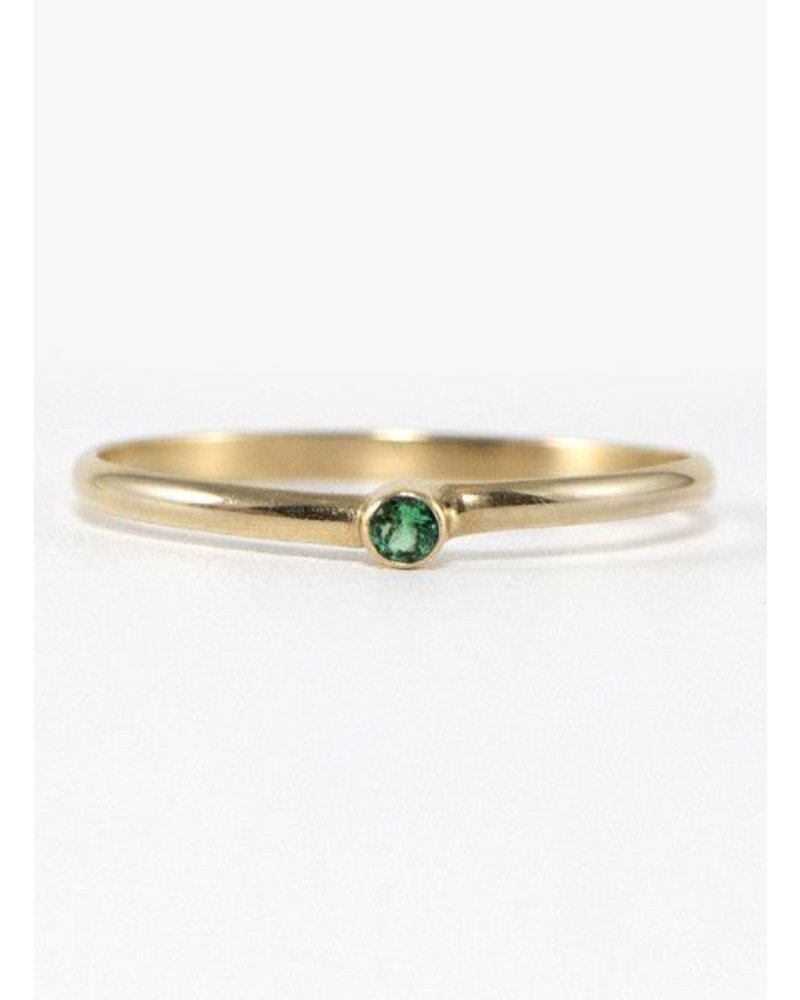 Eskell Fine Jewelry Eskell Emerald Eskell Ring- size 6