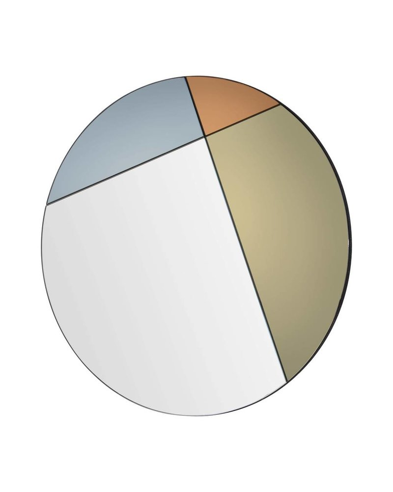 Renwil Tucker Mirror -Bronze, Grey & Orange Tinted Mirror All Glass