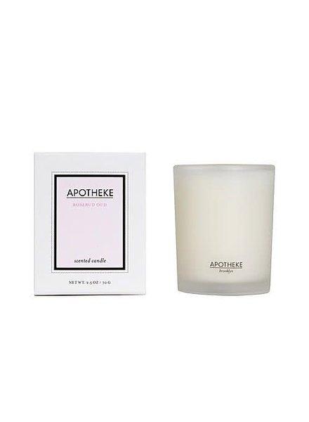 Apotheke Candle- Rosebud Oud