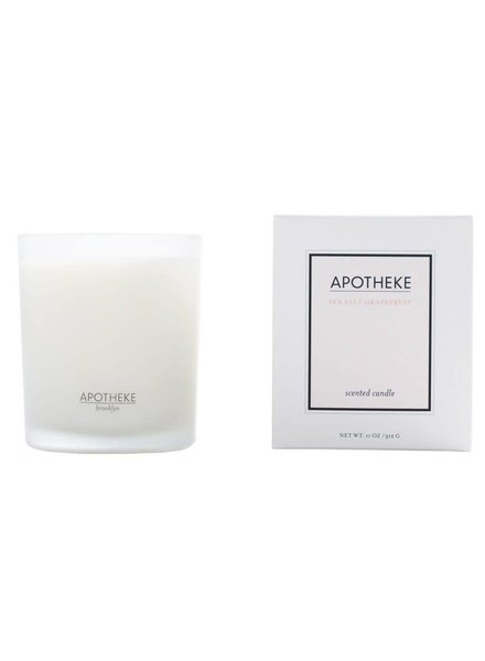 Apotheke Apotheke Candle- Sea Salt Grapefruit