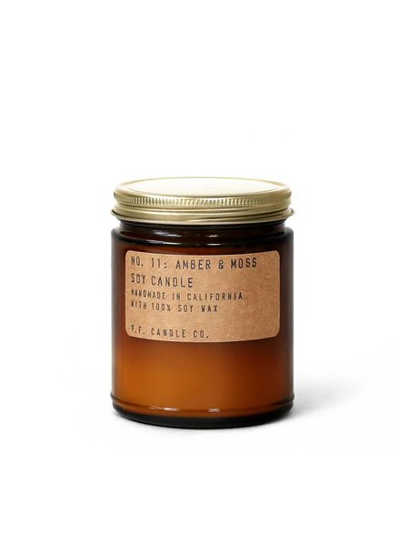 P.F. Candle Co. | Handmade Soy Candle | Amber & Moss