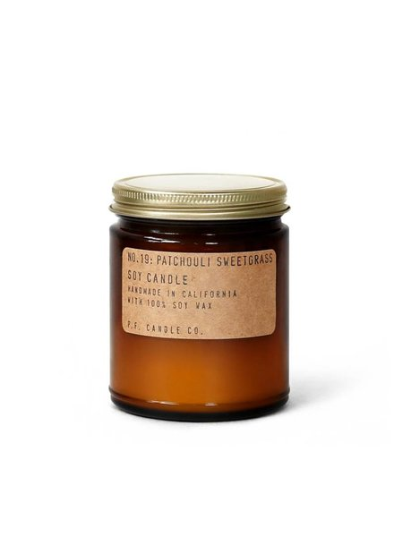 P.F. Candle Co. | Handmade Soy Candle | No. 19 Patchouli Sweetgrass
