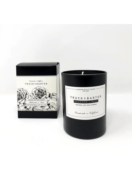 Truck & Barter Truck & Barter Candle- Redwood & Rose
