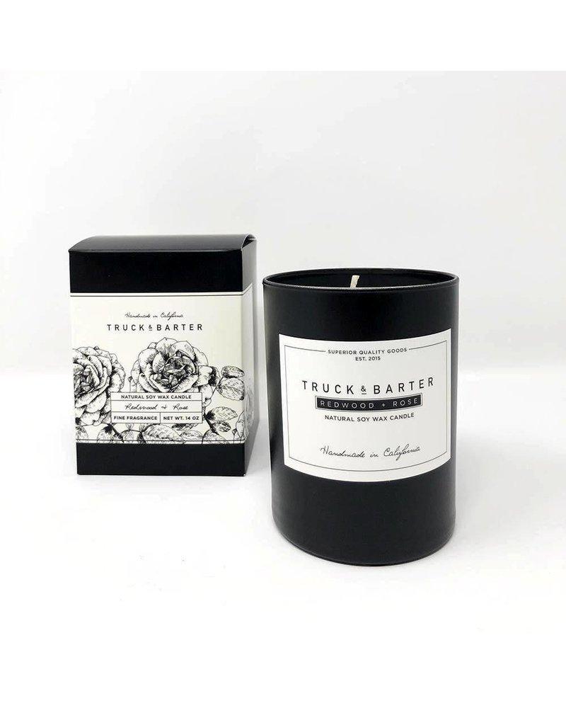 Truck & Barter Truck & Barter Candle- Redwood & Rose