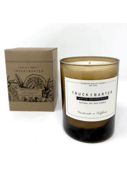 Truck & Barter Truck & Barter Candle- White Grapefruit