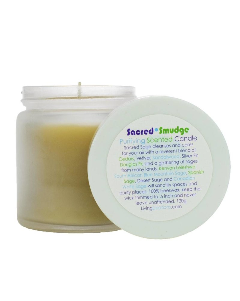 Living Libations Living Libations Candle- Sacred Smudge