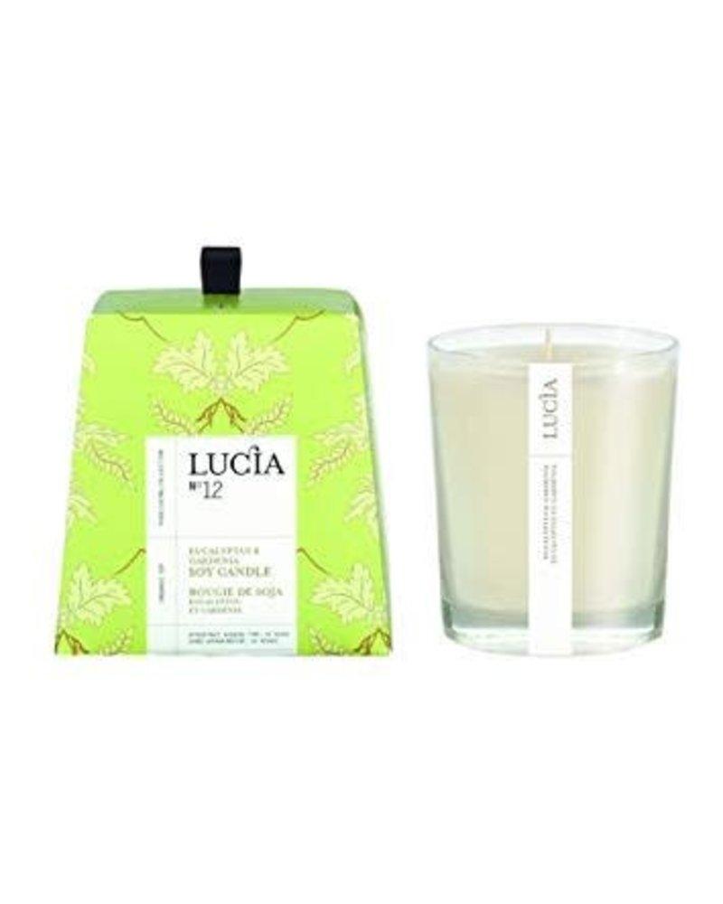 Lucia Lucia Candle- Eucalyptus & Gardenia