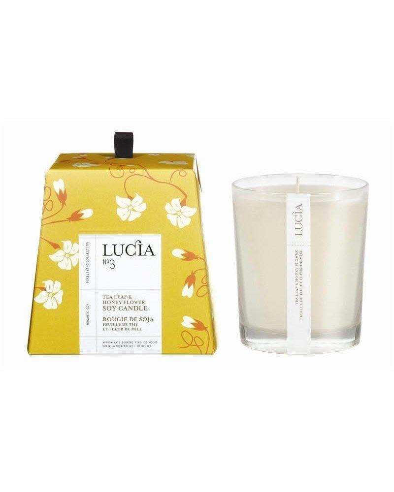 Lucia Lucia Candle- Tea Leaf & Wild Honey