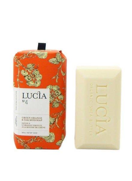 Lucia Lucia Soap- Green Orange & Oak Moss