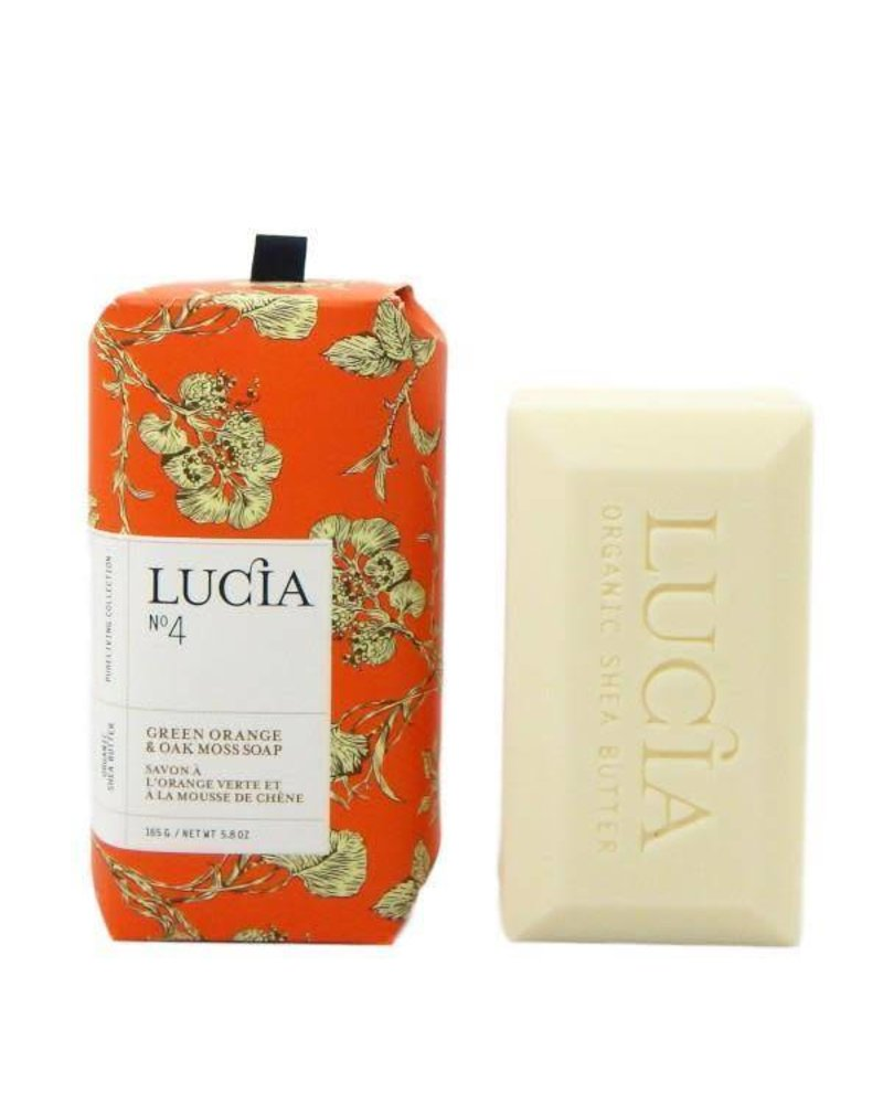 Lucia Lucia Soap- Green Orange & Oak Moss