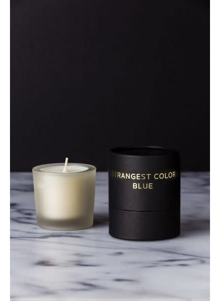 Dark, Wild & Deep Candle- Strangest Color Blue