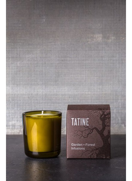 Tatine Garden + Forest Infusions Candle- Woodsmoke