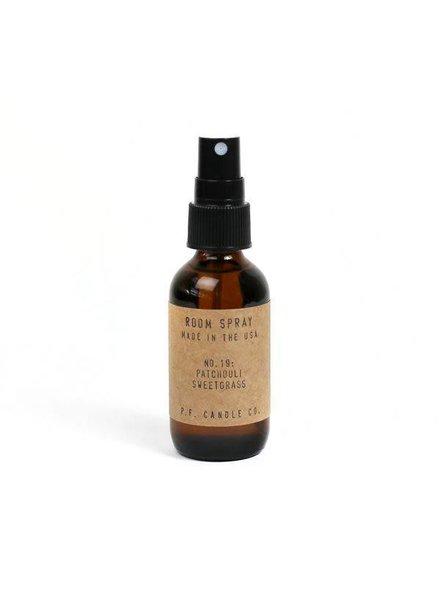 | Room Spray | No. 19 Patchouli Sweetgrass