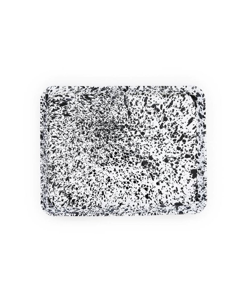 Crow Canyon Home Rectangle Tray/Jelly Roll Pan- Black Marble