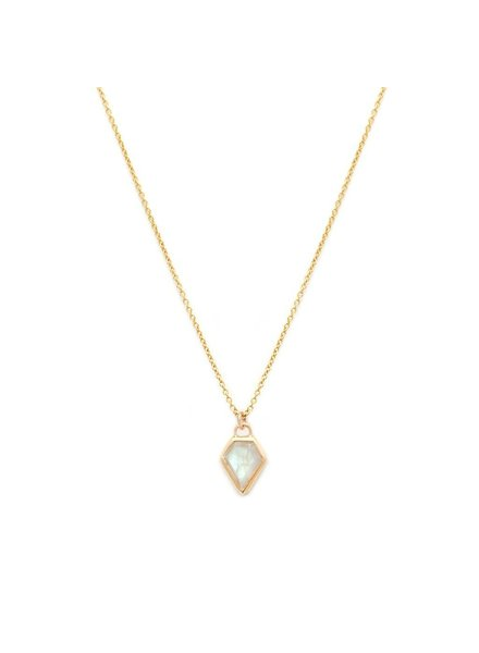 Leah Alexandra Leah Alexandra Gem Necklace | Moonstone