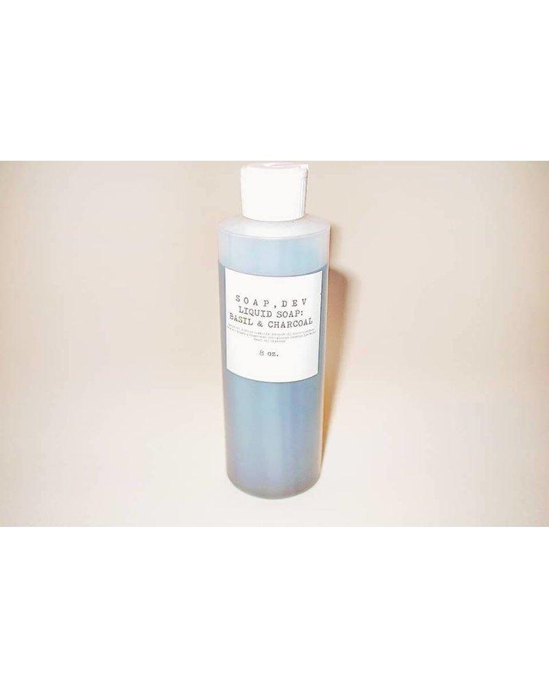 Soap, Dev Soap, Dev  Basil and Charcoal Body Soap