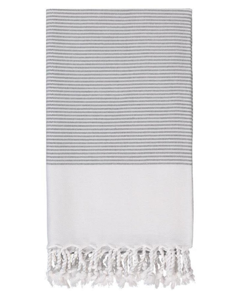 Olive & Loom Candy Body Towel- Charcoal