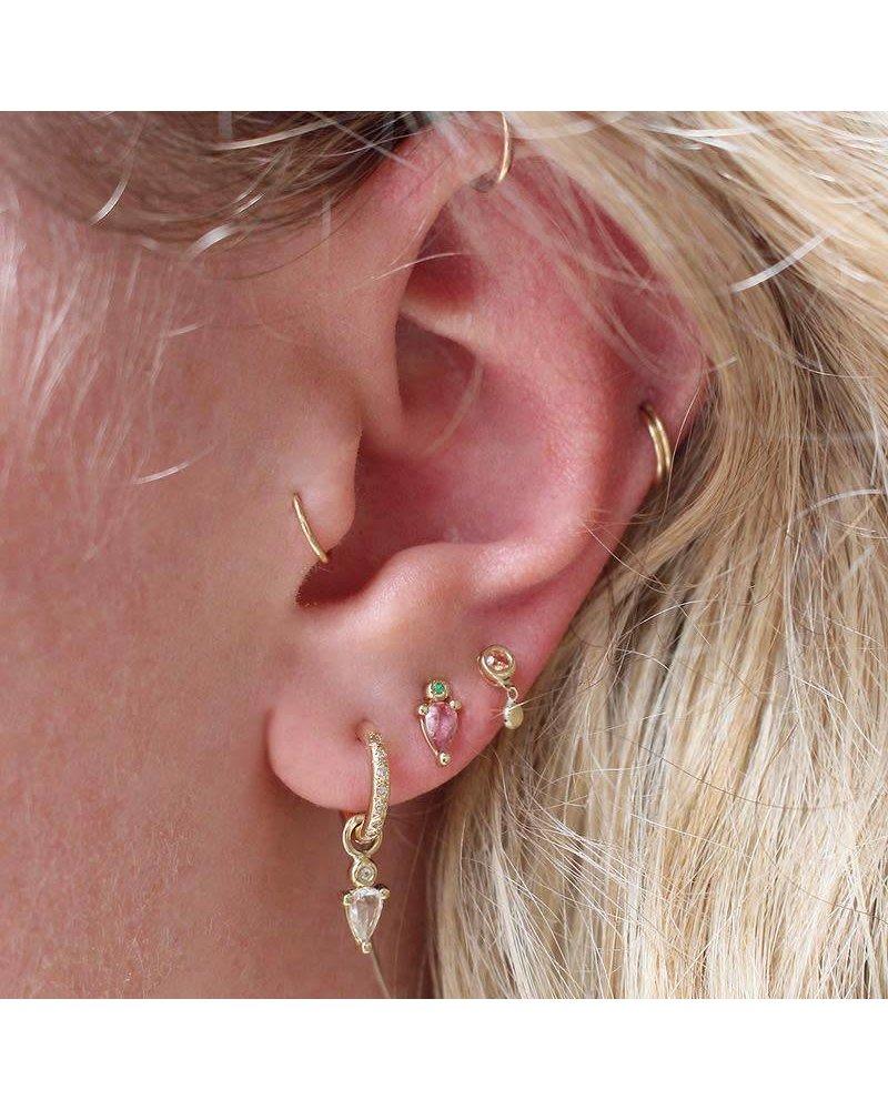 Scosha Scosha Droplet Stud Earrings- Pair