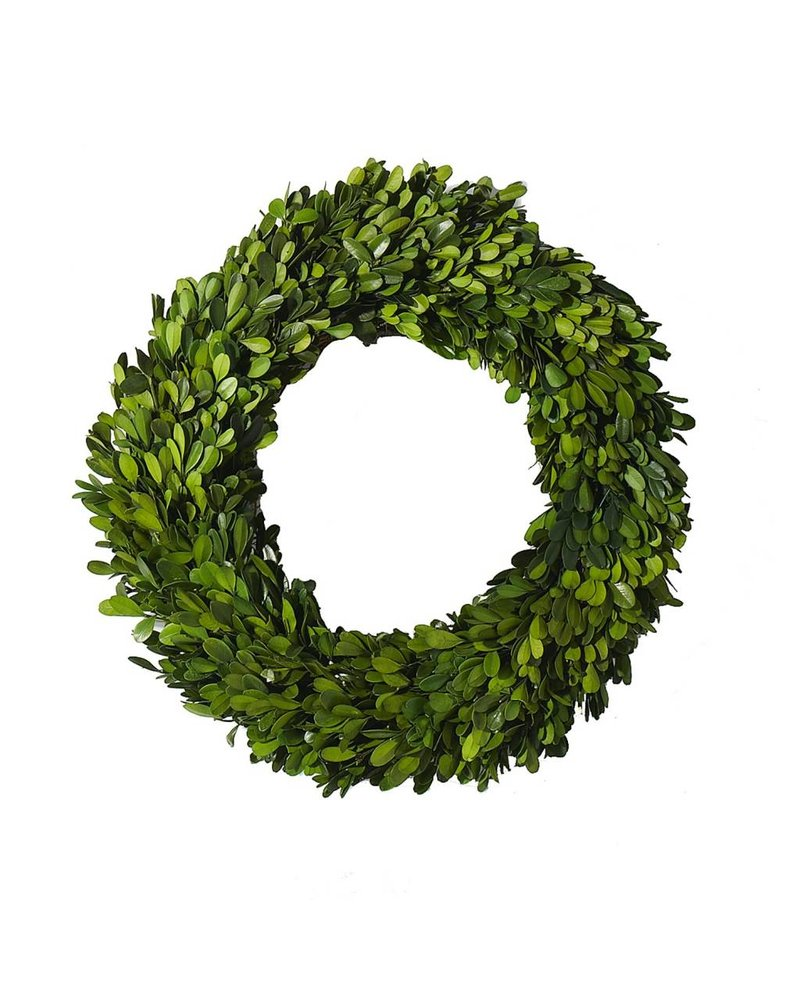Accent Decor Leafy Circle Wreath