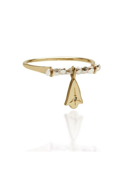 Scosha Scosha Lotus Swing Ring- size 6