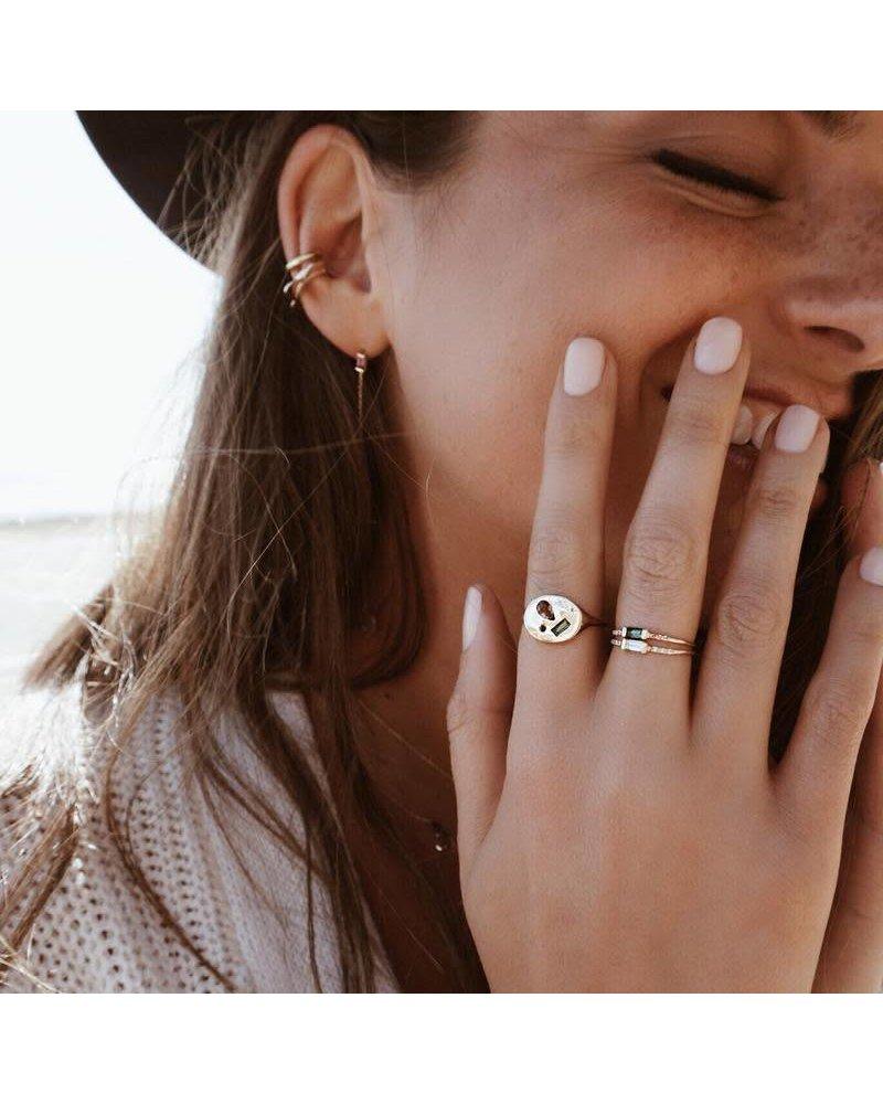 Scosha Scosha Night Market Signet Ring