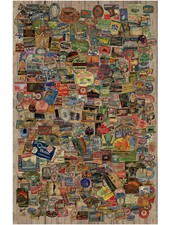 Stamps Paper Wall Hanging
