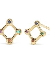 Rainbow Window Stud Earring